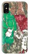 After Billy Childish Painting Otd 45 IPhone Case