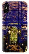 Ak Lodge Interior Christmas Tree IPhone Case