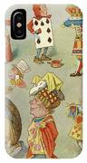 Alice In Wonderland Characters IPhone Case