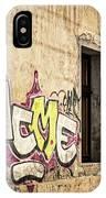 Alley Graffiti And Windows - Romania IPhone Case