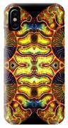 Ammonite Mandela - 044.1 IPhone Case