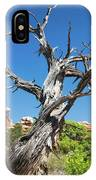 Ancient Dead Juniper With Character IPhone Case