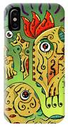 Ancient Spirit IPhone Case by Sotuland Art