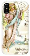 Angel  Carrying A Palm Branch IPhone Case