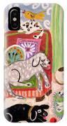 Animal Family 1 IPhone Case