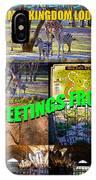Animal Kingdom Custom Greeting Card IPhone Case