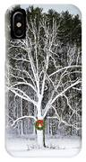 Appleton Tree In Holiday Dress IPhone Case