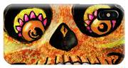 Aranas Sugarskull Of Spiders IPhone Case