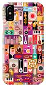 Art Collage, Musical Vector IPhone X Case