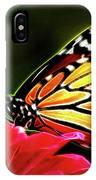 Artistic Monarch IPhone Case