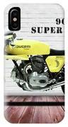 Ducati 900 Super Sport IPhone Case