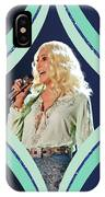Cher - Teal Diamond IPhone Case