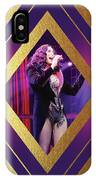 Burlesque Cher Diamond IPhone Case