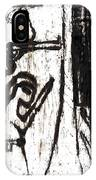 Assassin After Mikhail Larionov Black Oil Painting 10 IPhone Case