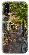 College Town Athens Georgia Downtown Uga Athens Georgia Art IPhone Case