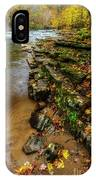 Autumn At Cherry Falls Elk River IPhone Case