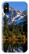 Autumn Colors With Mount Shuksan IPhone Case