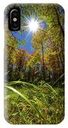 Autumn Forest Delight IPhone Case