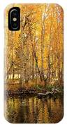 Autumn Gold Rush IPhone Case by Sean Sarsfield