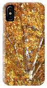 Autumn Golden Leaves IPhone Case