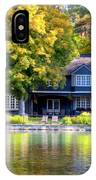 Autumn House Canvas Print, Photographic Print, Art Print, Framed Print, Greeting Card, Iphone Case, IPhone Case by David Millenheft
