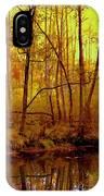 Autumn - Krasna River IPhone Case