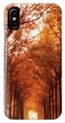 Autumn Lights At Groeneveld IPhone Case
