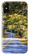 Autumn Paved IPhone Case