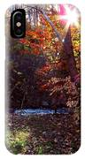 Autumn Starburst IPhone Case