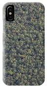 Balloon Over Forest IPhone Case