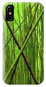 Bamboo X IPhone Case