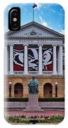 Bascom Hall - Madison - Wisconsin IPhone X Case