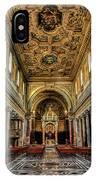 Basilica Di San Crisogono IPhone Case