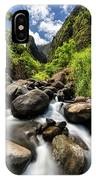 Beautiful Day At Iao Valley IPhone Case by Pierre Leclerc Photography