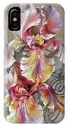 Beautiful Fantastic Realistic Flowers IPhone Case