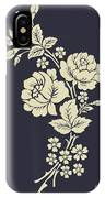 Beautiful Rose Flowers On The Dark IPhone Case