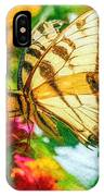 Beautiful Swallow Tail Butterfly IPhone Case by Don Northup