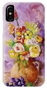 Beauty On Bouquet IPhone Case