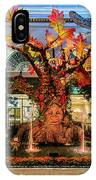 Bellagio Enchanted Talking Tree Ultra Wide 2018 2 To 1 Aspect Ratio IPhone Case