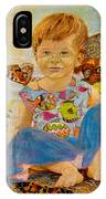 Bianka And Butterflies IPhone Case