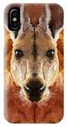 Big Boy Red Kangaroo   IPhone Case