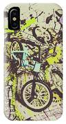 Bikes And City Routes IPhone X Case