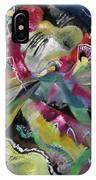 Bild Mit Weissen Linien - Painting With White Lines IPhone Case