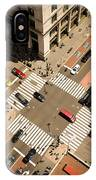 Birds Eye View Of Manhattan, Looking IPhone X Case