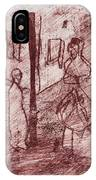 Black Ivory Issue 1b20 IPhone Case