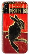Black Ivory Rabbit IPhone Case