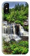 Blackwater Falls, Blackwater Falls State Park, West Virginia IPhone Case