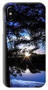 Blau IPhone Case