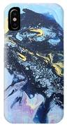 Blue Abstract #3 IPhone Case