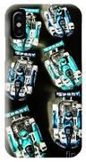 Blue Racers IPhone Case